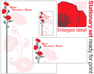 Poppy Stationary