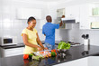 african chef couple