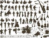 Fototapety Music vector