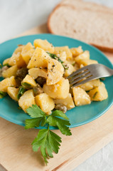 Potato and capers salad