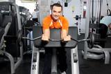 effort en salle de musculation poster