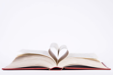 heart shaped pages