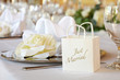 Hochzeitstafel Detail