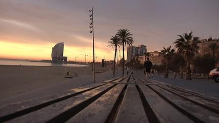 despertar en Barcelona