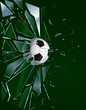 Broken Glass Soccer Ball 2