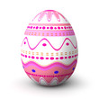 Pink pattern easter egg
