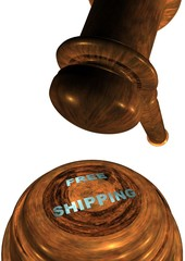 Gavel with FREE SHIPPING