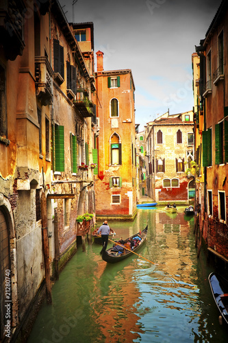 Keuken foto achterwand Venice Venice.