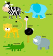 roleta: Animal and English