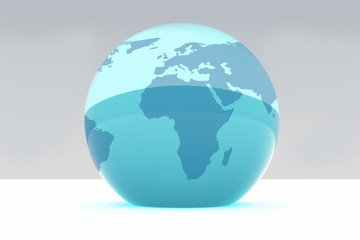Terre bleue