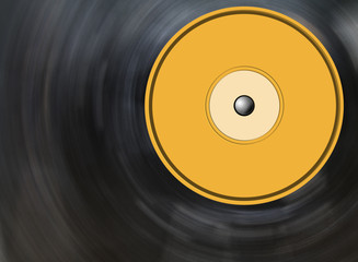 vinyl disc background