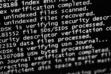Computer program error