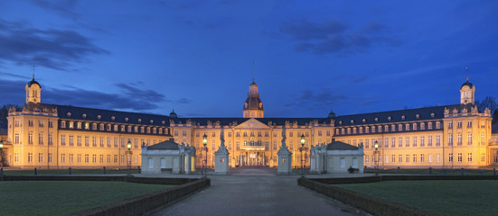 Panorma Karlsruhe Schloss