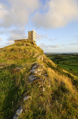 The church of St Michael at the summit of Brent Tor