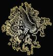 classic royal eagle emblem