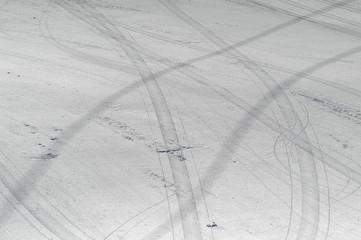 Fondo de nieve en Sierra Nevada 918