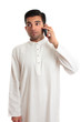 Ethnic businessman on cellphone