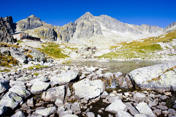 Five Spis Tarns and Teryho Cottage, High Tatras, Slovakia