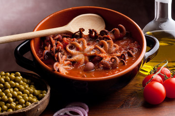 guazzetto octopus typical venetian recipe