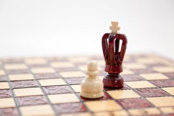 Schach König und Bauer