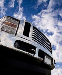 Shiny Truck Bumper