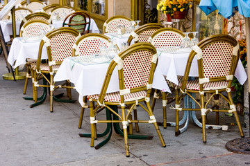 restaurant in Little Italy, Manhattan, New York City, USA