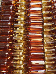 Large group of bottles