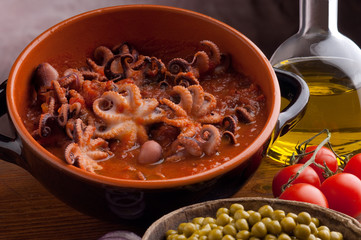 octopus in guazzetto typical venetian recipe