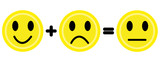 Yellow emoticons