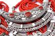 Quadro Ethnic Necklace Detail