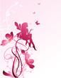 Fototapete Blume - Weiblich - Blume