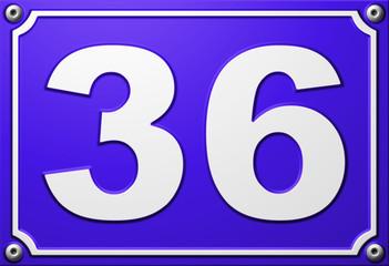 Numéro 36