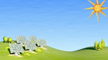 Solar Energy Title Plate