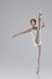 Fototapete Balance - Ballerina - Frau