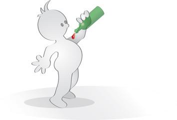 Grafix trinkt