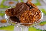 Schokoladen Florentiner poster