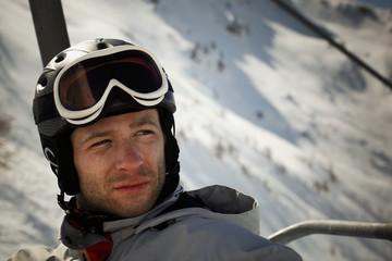 skier portrait