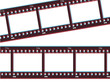 Film strip with 3d effect
