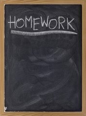 homework assignment on blackboard