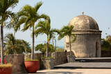 Colonial Wall of Cartagena de Indias. Colombia poster