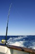 Angler boat big game fishing in saltwater - 21364312