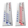 Leinwandbild Motiv Set of thermometers
