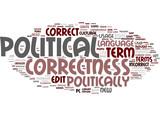 Politically correct poster