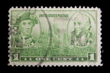 Vintage  US Navy commemorative postage stamp