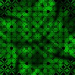 computer generated green abstract design
