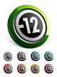 icône bouton internet pictogramme informatif -12