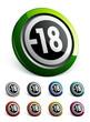 icône bouton internet pictogramme informatif -18
