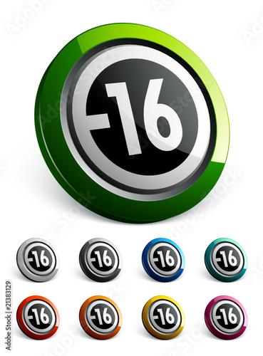 icône bouton internet pictogramme informatif -16