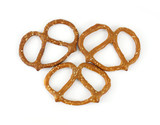 Three pretzels