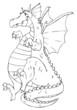Drache, Drachen, Monster, Echse